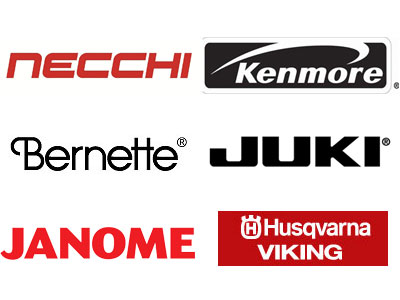 Sewing Machine repair, tune up, service and parts: Necchi, Kenmore, Bernette, Juki, Janome, Viking