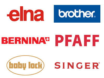 Elna, Brother, Bernina, Pfaff, Baby Lock, Singer sewing machine repair parts and tune up.