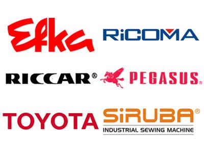 Sewing Machine Store parts for repair on Brands: Riccar, Toyota, Pegasus
