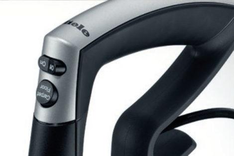Miele Upright Vacuum Cleaner Controls via handle