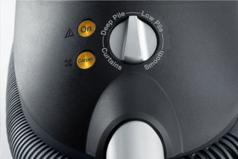 Miele Vacuum Cleaner Rotary dial controls