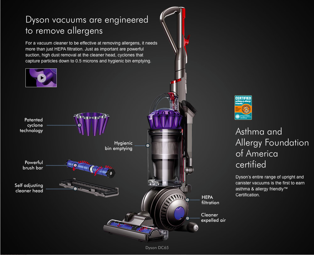 Dyson Dc65 Animal Vacuum Cleaner Denver Vacuum Store