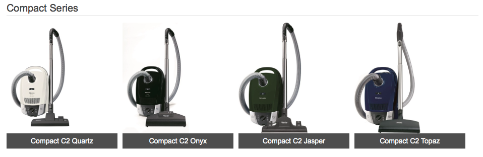 Miele Compact C2 Canister Vacuums