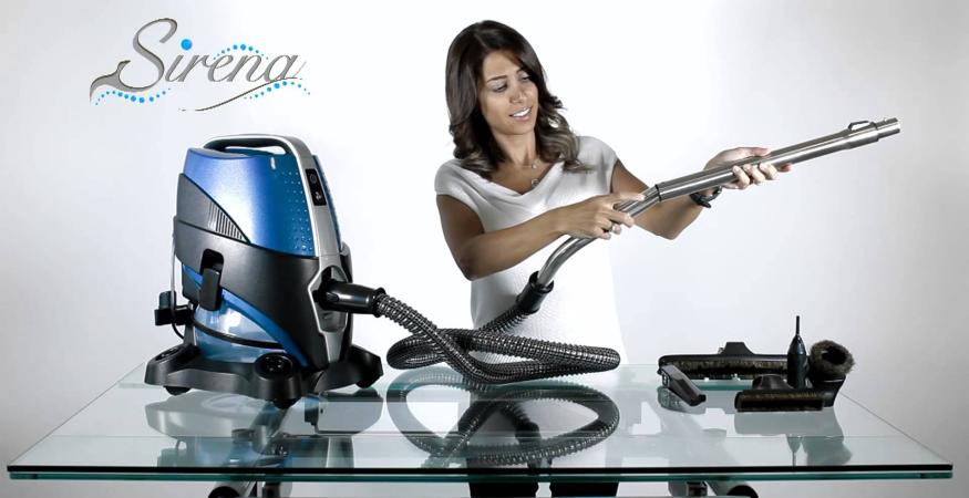 Sirena Water Vacuum for your pet hair
