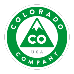 Local business providing goods or services with its headquarters located within the State of Colorado Logo