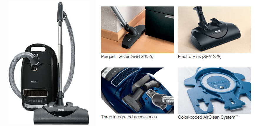 miele kona complete c3 canister vacuum cleaner denver vacuum store. Black Bedroom Furniture Sets. Home Design Ideas