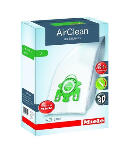 Miele-Vacuum-Bags-Type-U AirClean 3D Bags Original for Miele Upright