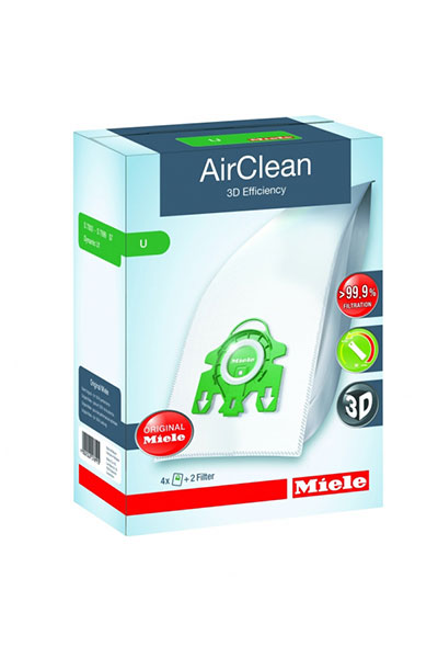 Miele-Vacuum-Bags-Type-U AirClean 3D Bags Original for Miele Upright