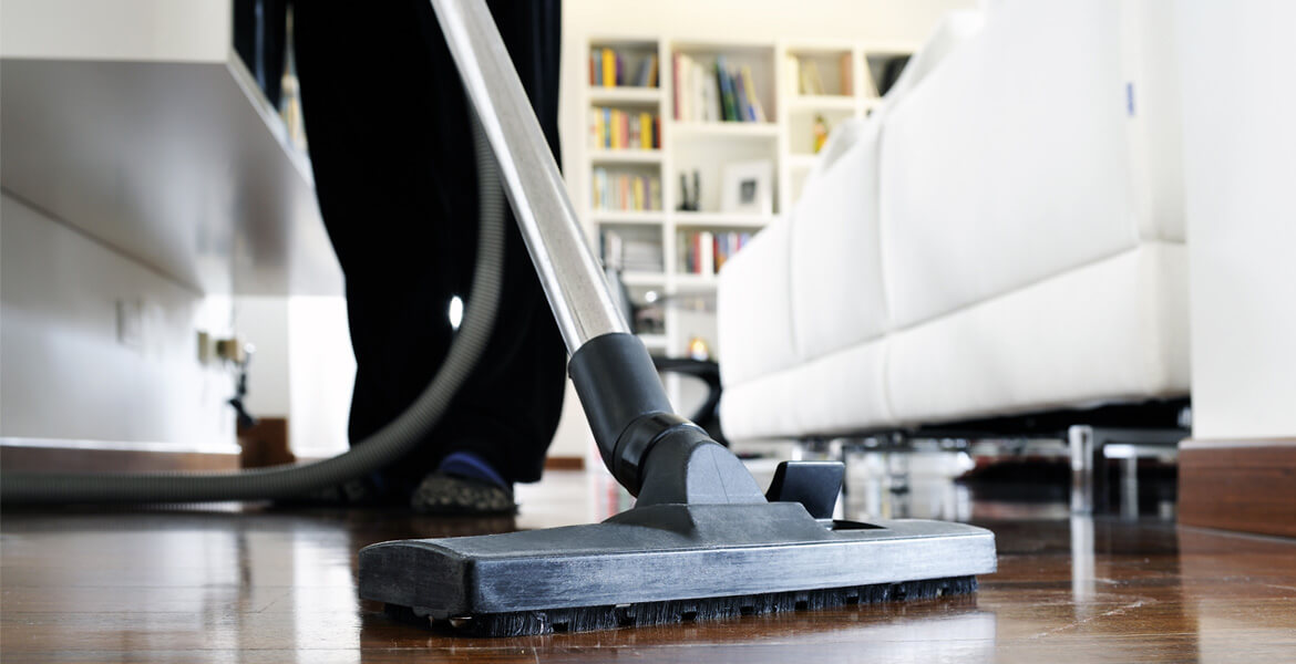Vacuum cleaner and wood floors