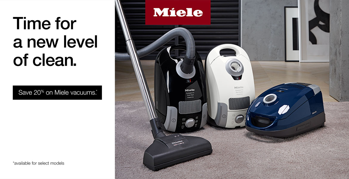 Fall 2018 Miele Promo - Save 20% On Select Models
